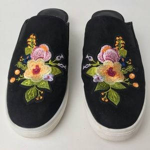 STEVEN NATURAL COMFORT LORA EMBROIDERED SNICKERS